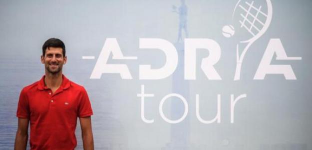 Torneo benéfico organizado por el tenista Novak Djokovic fue cancelado