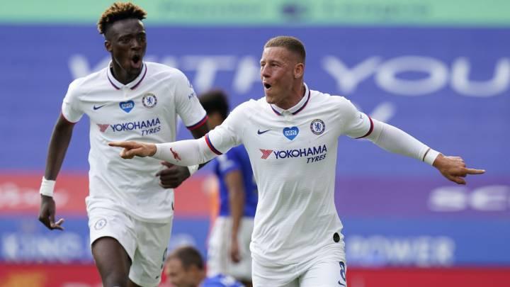 Chelsea derrotó al Leicester City y se metió en las semifinales de la Copa de Inglaterra