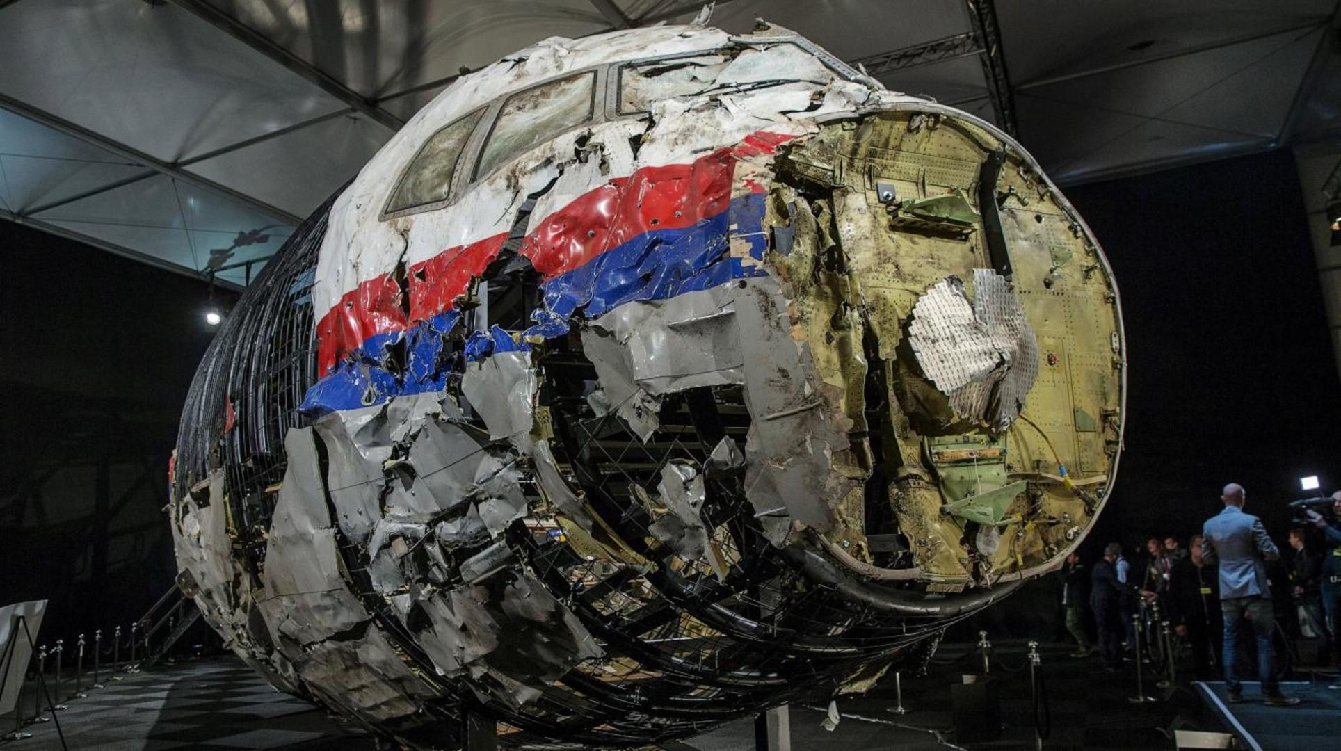 Justicia de Países Bajos adelanta investigación contra Ucrania por avión derribado en 2014