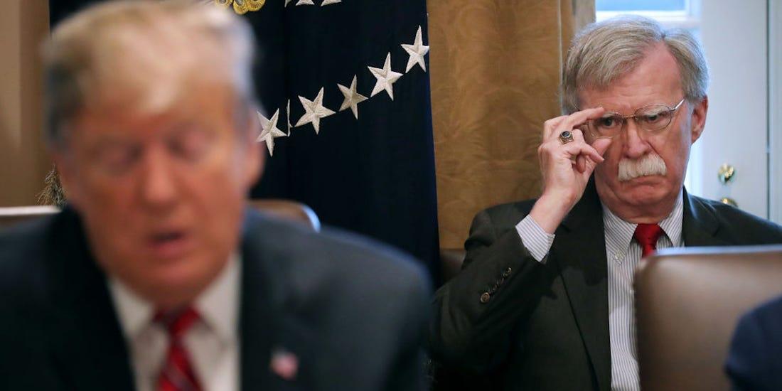 Bolton revela en su libro que Trump pidió resucitar la Doctrina Monroe