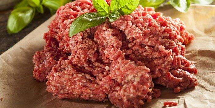 ¡Podría contener cualquier cosa! Cuidado con la carne molida