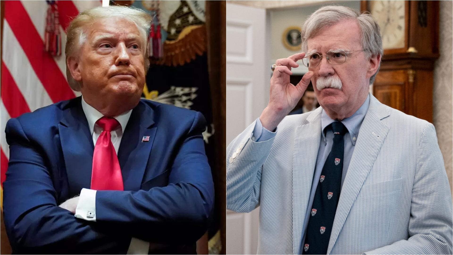 Bolton afirma que Trump quería dialogar con Maduro mucho antes de la autoproclamación de Guaidó