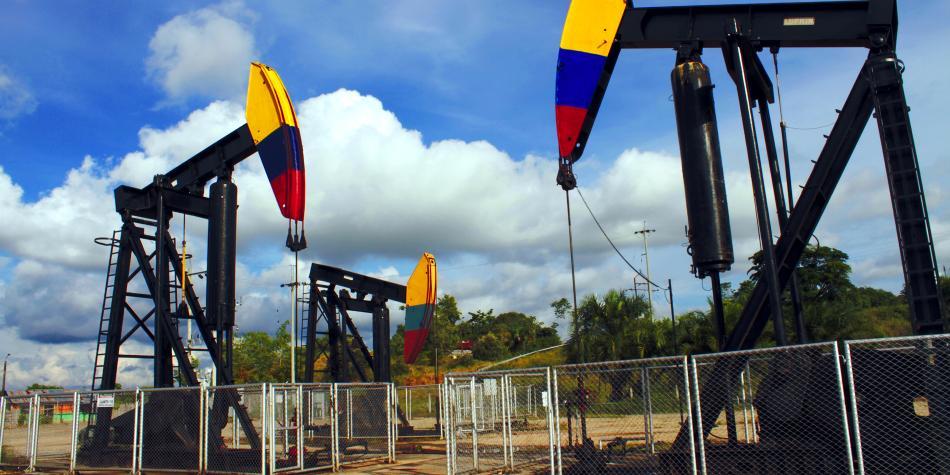 Producción petrolera de Colombia bajó 18% hasta llegar a los 732.120 bpd
