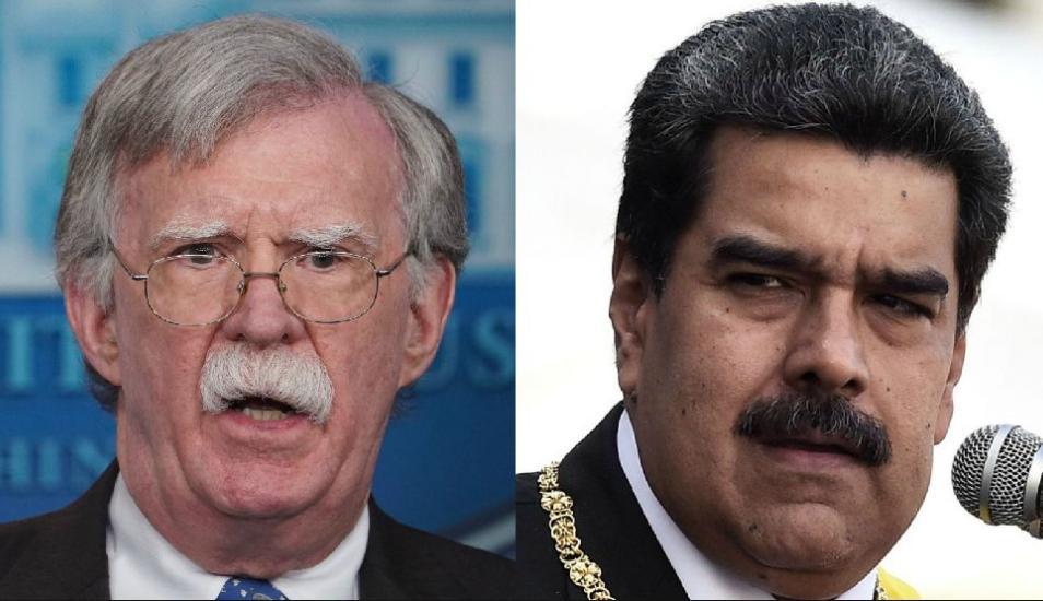 Bolton: Trump piensa que puede negociar un acuerdo con Nicolás Maduro