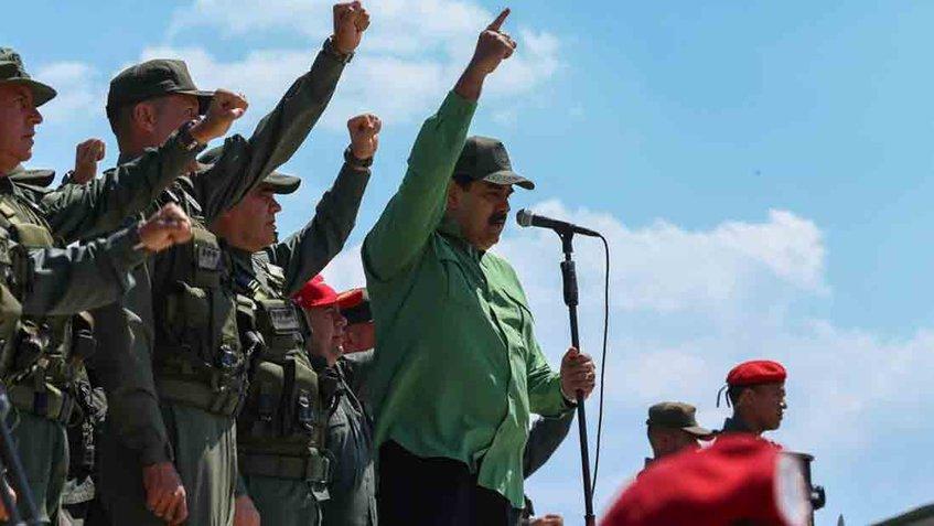 """Maduro catalogó de """"falsos e inmundos"""" los recientes señalamientos del Comando Sur contra Venezuela"""