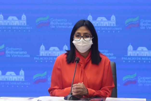 Delcy Rodríguez: Recomendamos incluir a Caracas y Miranda en nivel 1 de cuarentena radical