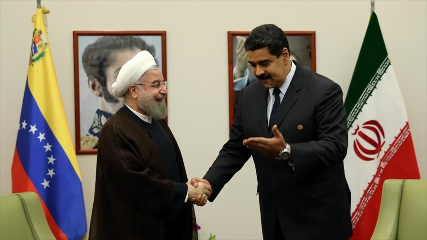 Rouhani: Irán y Venezuela deben fortalecer relaciones ante asedio de EEUU