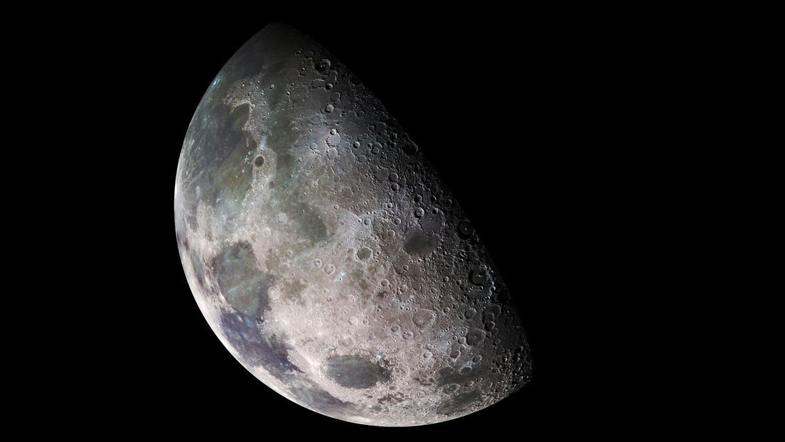 """Descubren el origen de una """"misteriosa sustancia"""" en el lado oscuro de la Luna"""