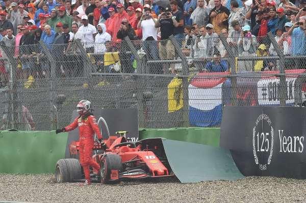 Leclerc asume responsabilidad por quedar fuera de competición