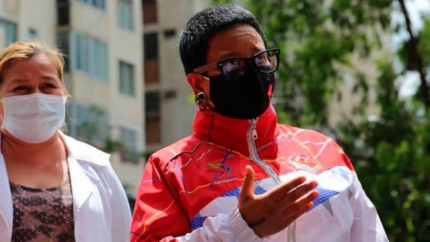 Erika Farías: Hay 19 parroquias de Caracas con casos activos de COVID-19
