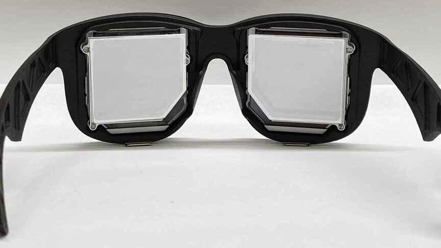 Facebook crea lentes de realidad virtual más pequeños hasta el momento