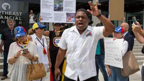 """Veppex pide a Trump realizar una """"acción de Fuerza"""" contra Maduro"""