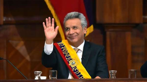 Lenín Moreno anuncia que logró liberar 16 mil millones de dólares