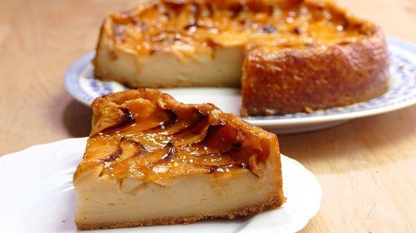 ¡Hora del postre! Endulza tus tardes con una rica torta de manzana