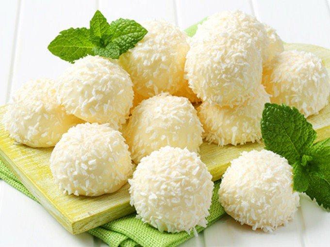 Deliciosas bolitas de coco