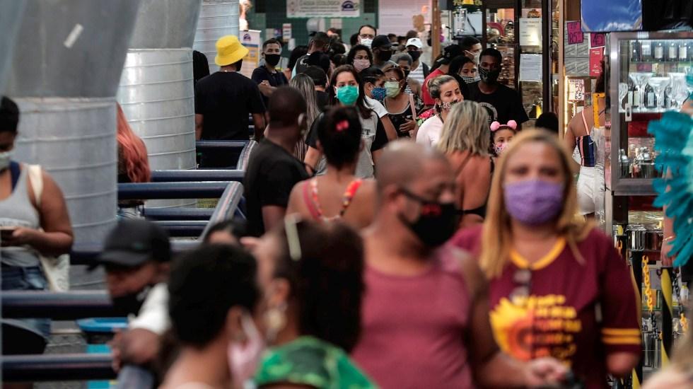 OMS: Casos mundiales de COVID-19 registran aumento récord en las últimas 24 horas