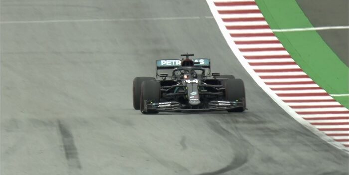 Lewis Hamilton lideró el primer entrenamiento del GP de Austria