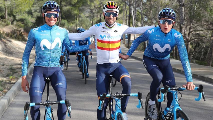 Valverde junto a Mas y Soler participarán en la Vuelta a Burgos