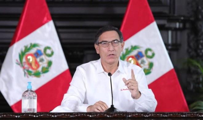 Martín Vizcarra denuncia al Congreso por intentar descartar inmunidad parlamentaria