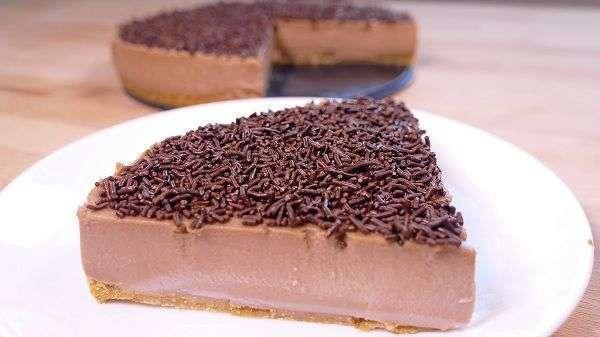 Prepara  tarta de chocolate sin horno