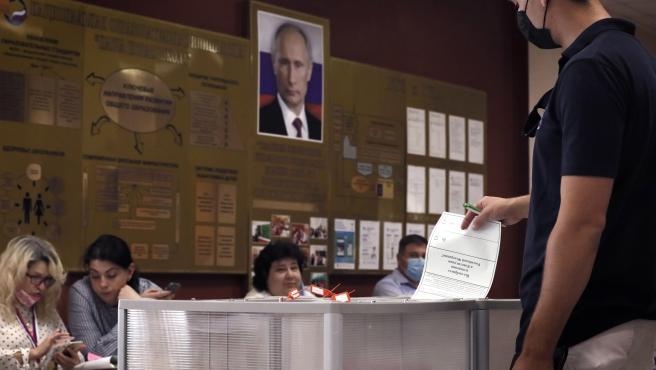 77,92% de votantes rusos apoyaron las 206 enmiendas constitucionales