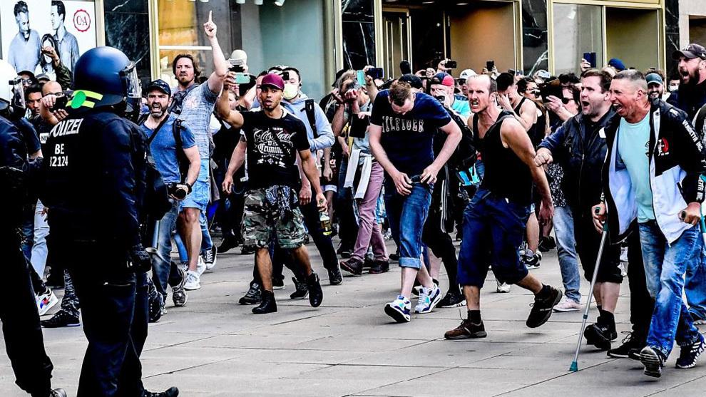 """Manifestación """"anticorona"""" intentó asaltar el Parlamento: Alemania"""