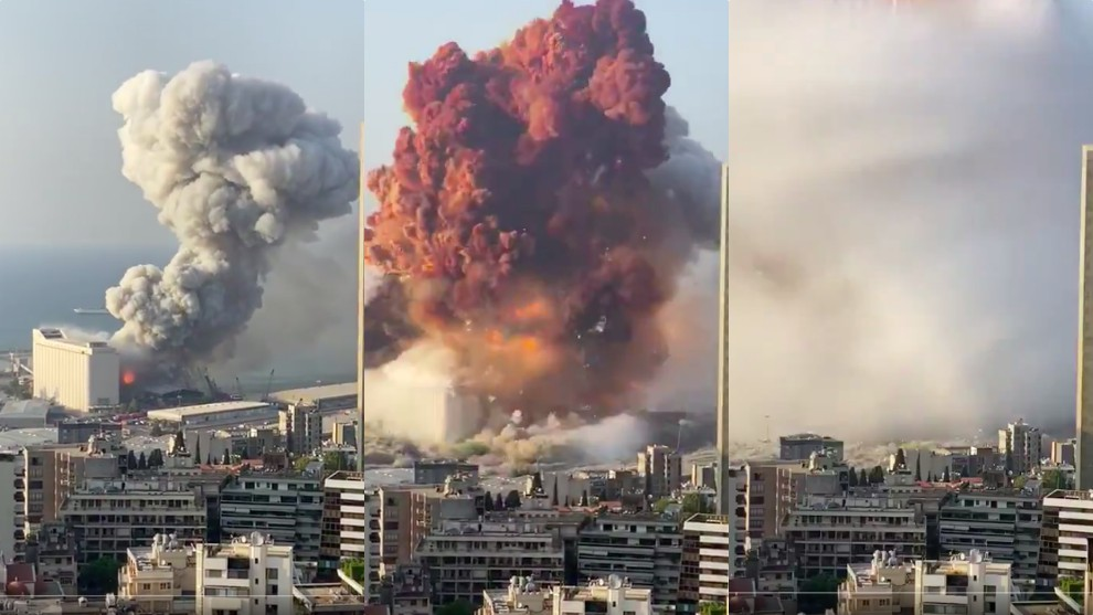 Explosión en zona portuaria del Líbano deja 10 fallecidos y numerosos heridos