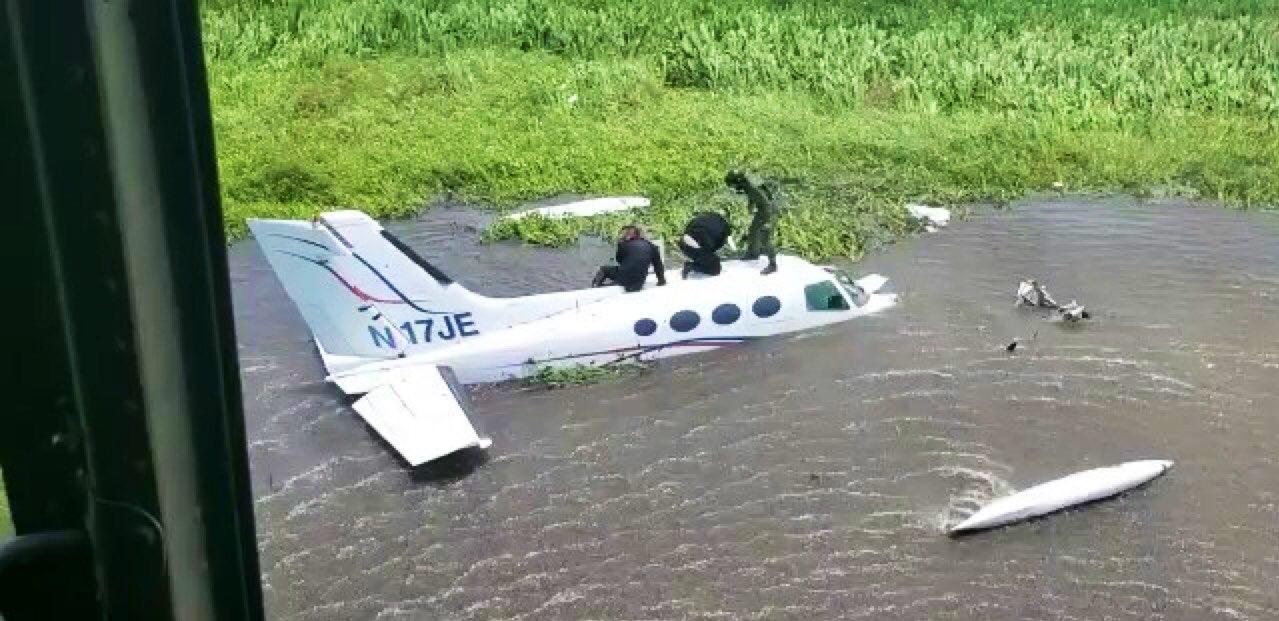 GNB inutilizó aeronave vinculada al narcotráfico y con siglas norteamericanas