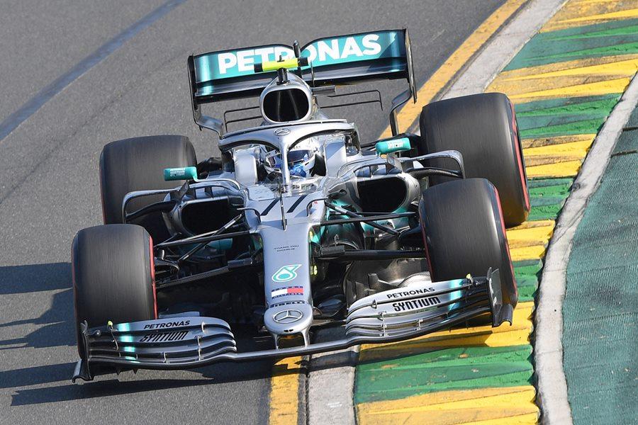 Piloto Valtteri Bottas superó a Hamilton y se lució en prácticas del GP de Bélgica