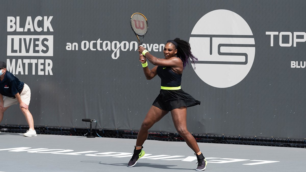Serena Williams triunfa en la primera ronda del torneo WTA de Lexington
