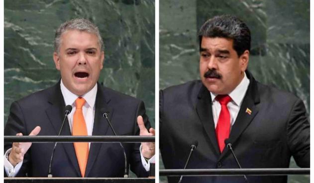 """Duque cataloga al Gobierno venezolano de """"régimen connivente con terroristas"""" del ELN y las FARC"""