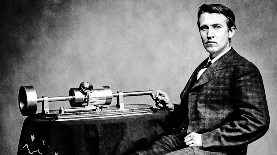 12 de agosto: Thomas Alva Edison presenta novedoso invento llamado fonógrafo - Primicias 24