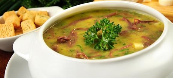 Original de la gastronomía brasileña: Caldo de Aipim