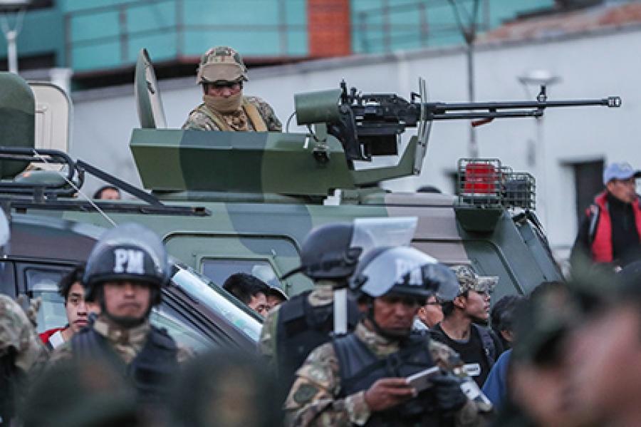 Principales ciudades de Bolivia se encuentran militarizadas
