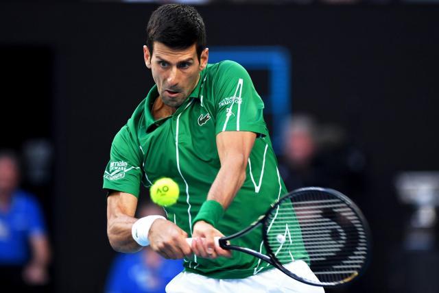 Novak Djokovic busca acercarse al récord de Roger Federer