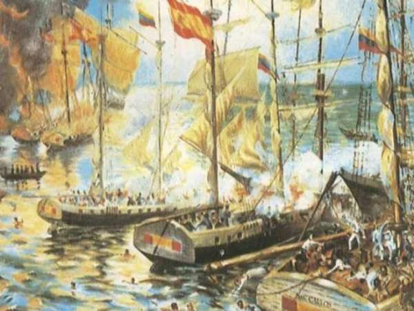 1813: Se desarrolla la Batalla Naval de Cumaná