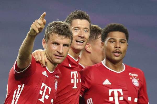 Bayern vence 3-0 al Lyon y clasifica a la final de la Champions