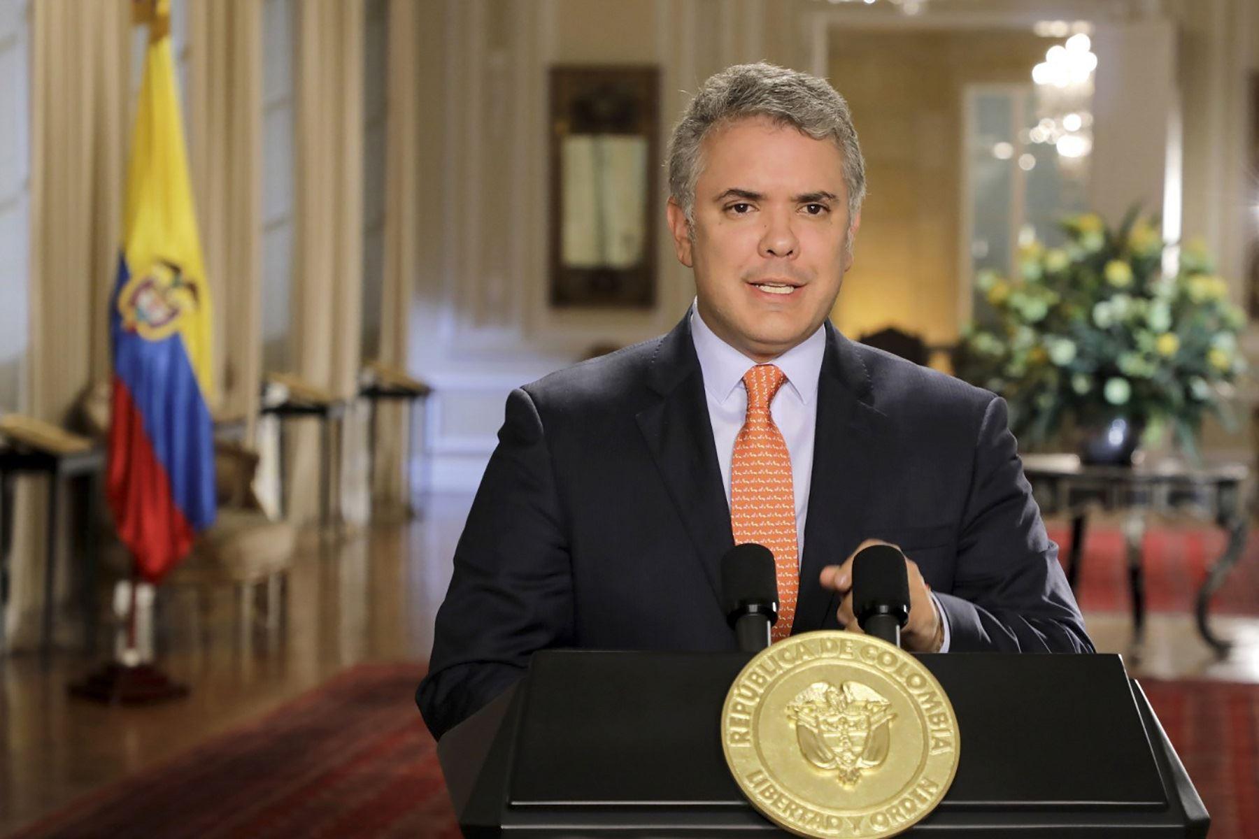 Duque reitera que no tiene Interés de reunirse con Maduro