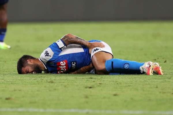 Napoli confirma lesión de Insigne y podría perderse duelo ante el Barcelona