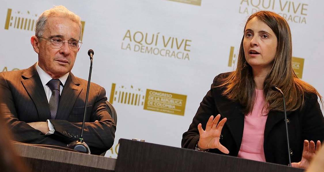 Paloma Valencia sobre juicio contra Uribe: Es un momento muy triste para Colombia
