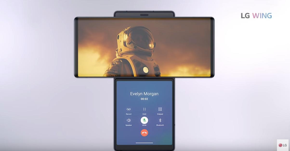 LG presentó celular con pantalla giratoria que aporta sorprendentes beneficios