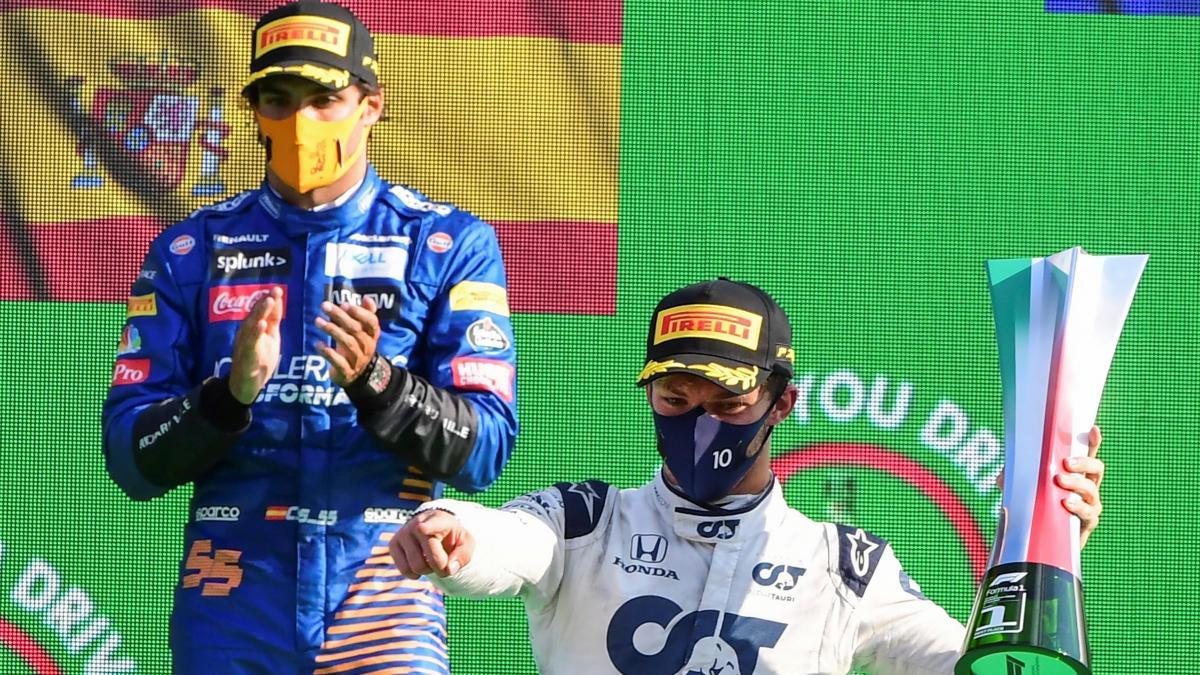 Piloto Pierre Gasly se quedó con el Gran Premio de Italia