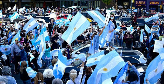 Jefe de Gabinete de Bueno Aires criticó nueva protesta contra Gobierno de Fernández
