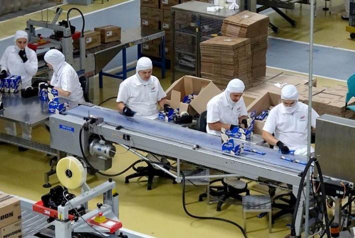 Producción industrial de Colombia cae 8,5% en julio