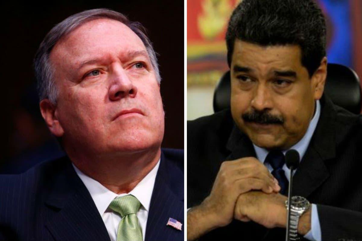 Mike Pompeo: Maduro es un narcotraficante acusado y debe irse