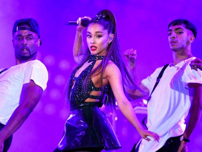 Ariana Grande canceló concierto en Las Vegas por problemas de salud