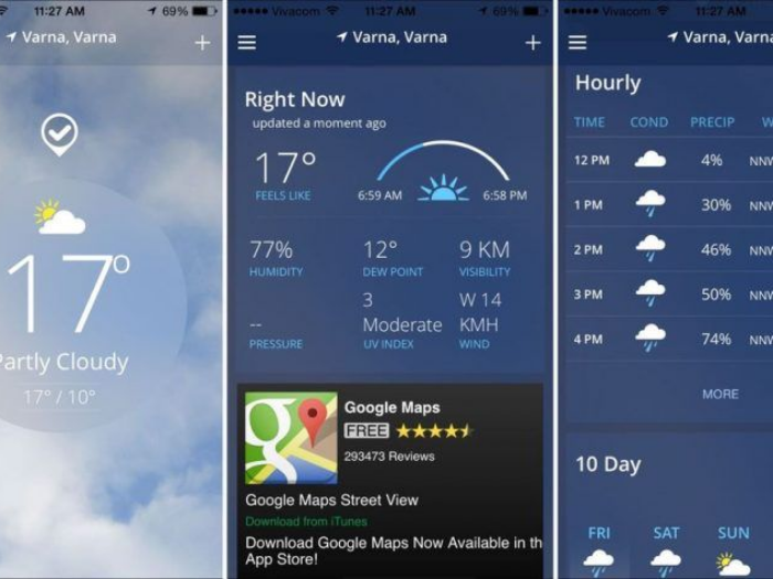 Demandaron aplicación del clima por vender datos de usuarios
