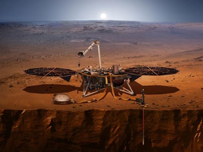 La NASA desplegó nueva herramienta en la superficie de Marte