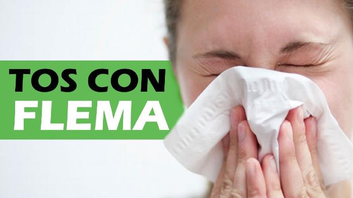 Remedios caseros para aliviar la tos con flema