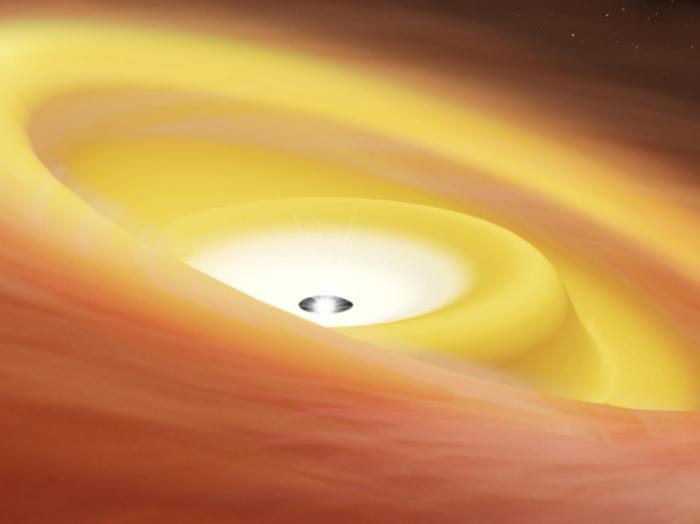 Encontraron protoestrella con un disco deformado que podría explicar una peculiaridad del sistema solar